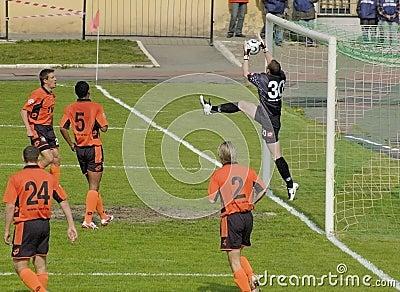 Russian League 1 football Editorial Photography