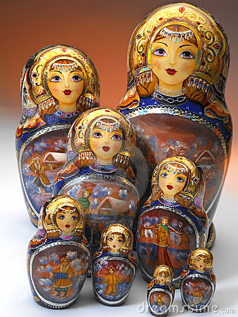 Russian Matrushka Dolls