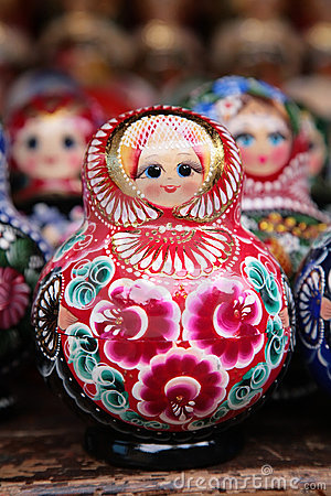 Free Russian Matryoshka Stock Photos - 4962563
