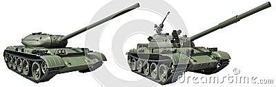 Russian medium tank T-54 of 1946