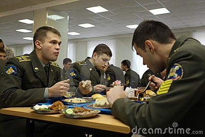 Russian military college. Editorial Stock Image