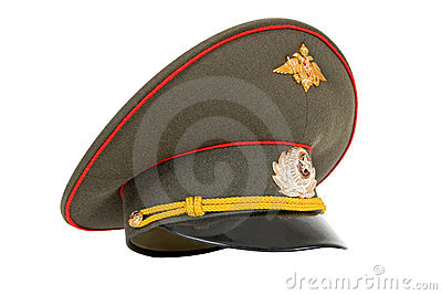 Russian Military Officer Cap Royalty Free Stock Photography - Image: 13325787