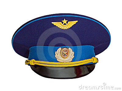 Russian military pilot s cap