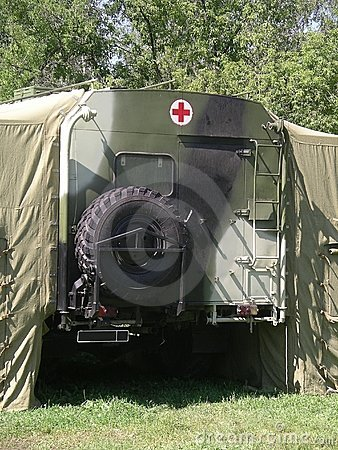 Russian mobile hospital