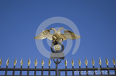 Russian museum gates