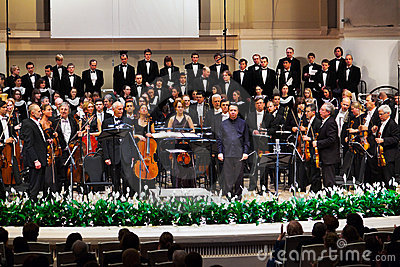 Russian National Orchestra Editorial Stock Photo