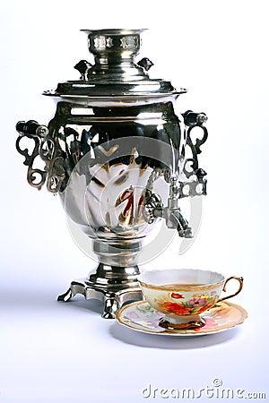 Russian national samovar
