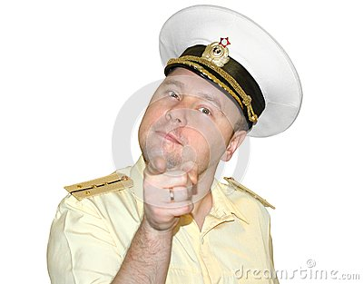Russian naval officer.