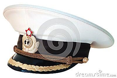 Russian navy service cap.