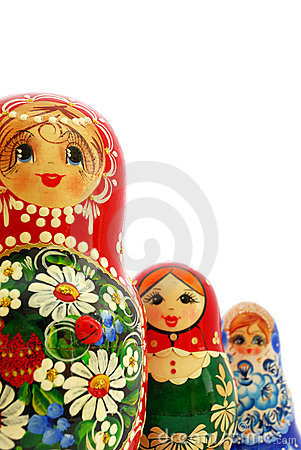 Free Russian Nesting Dolls Stock Photo - 11401260