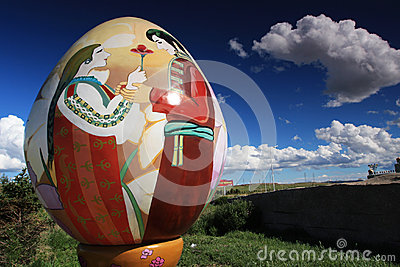 Russian nesting dolls Editorial Stock Image