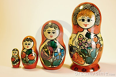 Russian Nestling Dolls