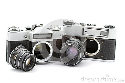 Russian old cameras