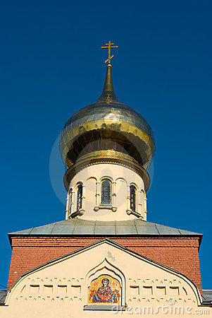 Russian orthodox church cupola