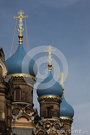 Free Russian Orthodox Church Dedicated To Saint Simeon In Dresden, Ge Royalty Free Stock Image - 49105126