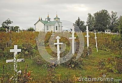 Russian Orthodox Church on the Kenai Penninsula