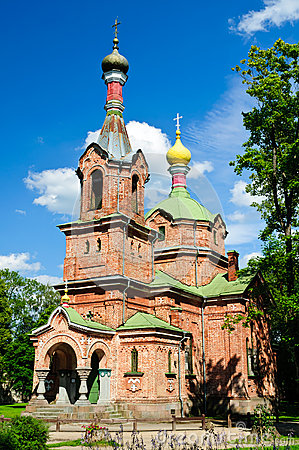 Russian orthodox church in kuldiga