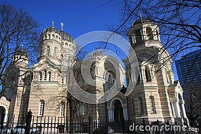 Russian Orthodox Church in Riga