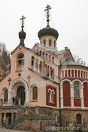 Russian Orthodox Church of St Vladimir in Mariansk