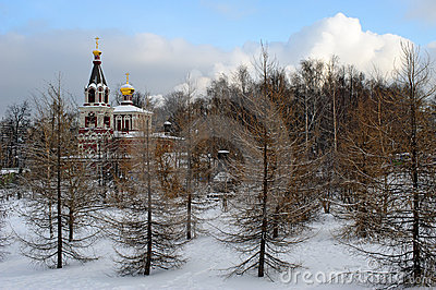 Russian orthodox church in winter park