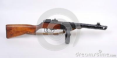 Russian PPSh machine gun.