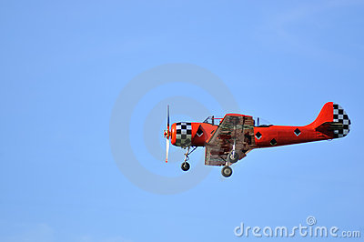 Russian red plane