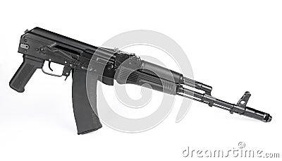 Russian rifle Kalashnikov ak74m