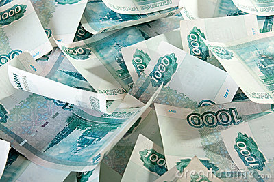 Russian Ruble.