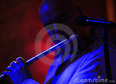 Russian singer and musician Sergey Mazaev Editorial Stock Photo