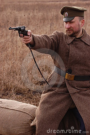 Russian soldier 1918