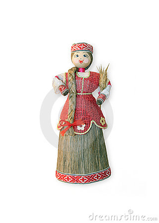 Russian souvenir doll