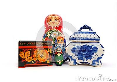 Russian souvenirs