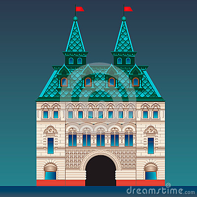 Russian style house