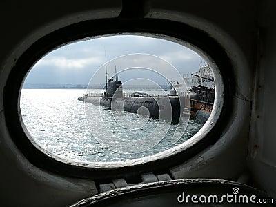 Russian Submarine Naval Museum