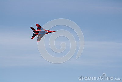 Russian supersonic fighter MiG-29 Editorial Image