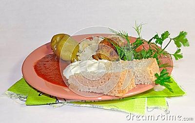 Russian supper