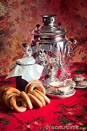 Free Russian Tea Royalty Free Stock Photo - 19045385