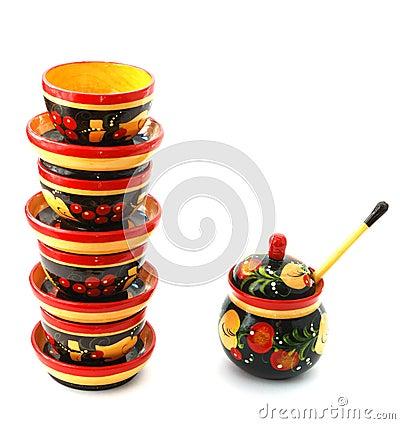 Russian tradition kitchen equipment