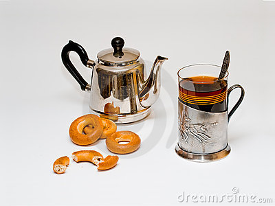 Russian traditional tea
