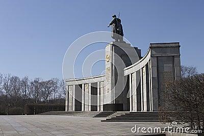 Russian war monument in Berlin