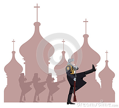 Russische Militairen