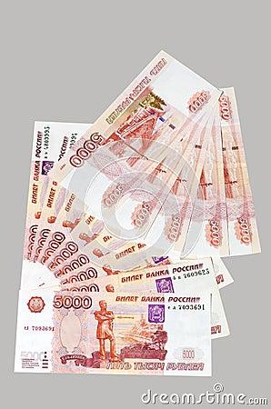 Royalty vrije stock afbeelding russische roebel