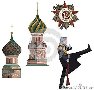 Russische Symbole
