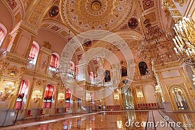 Russland moskau großartiger der kreml palast historisches altes