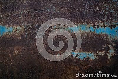 Rust on blue steel