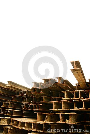 Rust H-beam