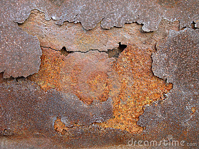 Rust metal layers
