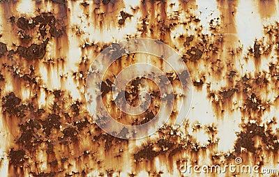 Rust metal sheet