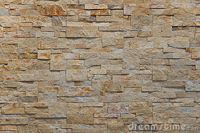 Rust stone wall