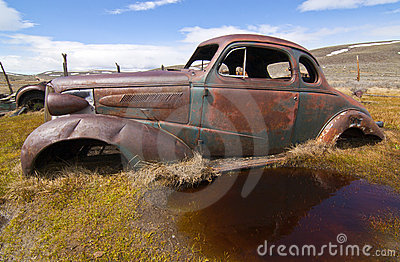 Rusted Antique Car